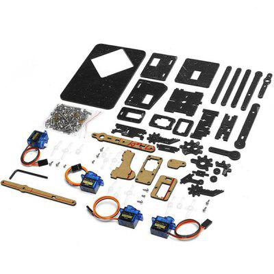 DIY Robot Arm Kit Educational Robotic Claw Set only for $23 99