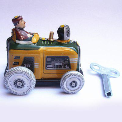 Nostalgische Retro Tractor Clockwork Tin Toy Gift