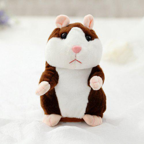 Electric Hamster Doll Talking Plush Toy