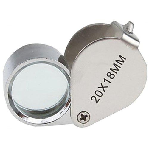 1 MAGNIFIER GLASS-folding-30x++-1-mini 60x microscope lighted#y5