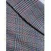 British Business Vest Fashion Slim Casual Lattice Small Vest - DARK GRAY
