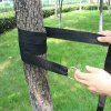 Aotu AT6749 Outdoor Hammock Tied Rope Super Thick Nylon Strap with Hook 2pcs - BLACK