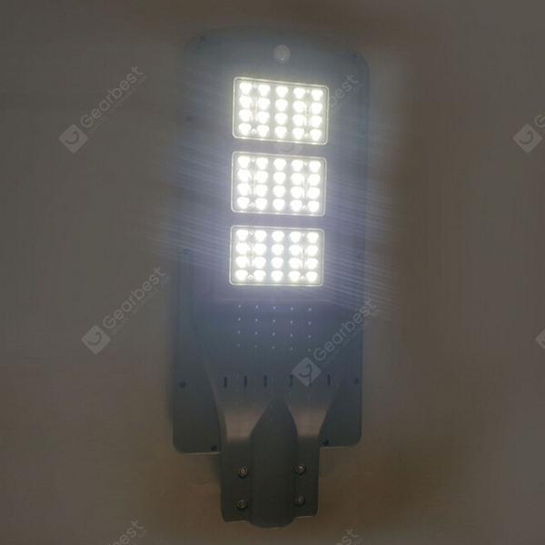 60W Waterproof LED Solar Street Light Head - COOL WHITE