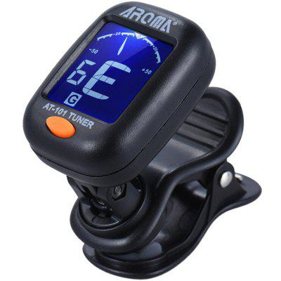 AROMA AT - 101 Digital Clip Type Electric Guitar Tuner