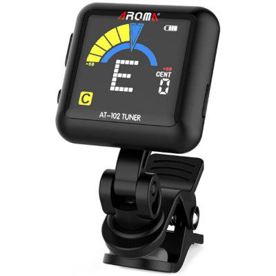 AROMA AT - 103 Clip-on Tuner for Guitar