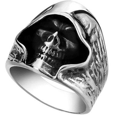 Halloween Zinc Alloy Male Personality Vintage Ring
