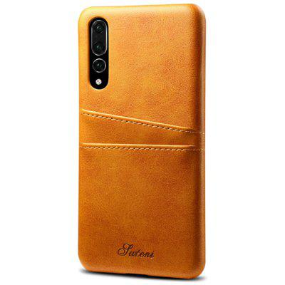 Full Covered PU Phone Case with Card slots for HUAWEI P20 Pro
