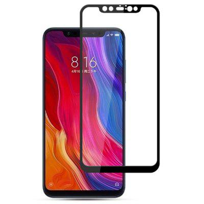 Naxtop Full Screen Hard Edge Tempered Glass Film for Xiaomi Mi 8 Explorer Edition