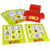 Kids Bingo Picture Matching Board Game Learning English Word Cards Educational Toys Set - #001