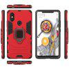 LuanKe Blade Support Sheath Phone Case for Xiao Mi 8 SE - RED