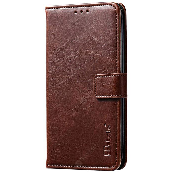 Wallet Cover Retro Flip Leather Phone Shell for Bluboo S1