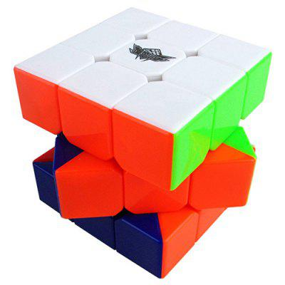 Cyclone Boys Speed Stickerless Magic Cube 3 x 3 x 3 Puzzles Toy