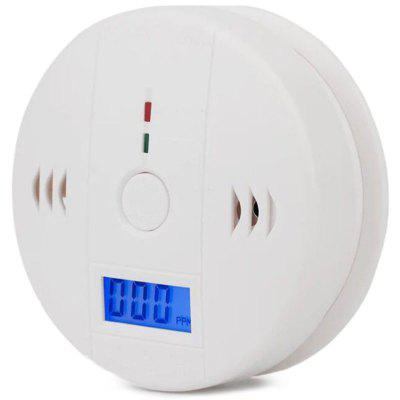 Carbon Monoxide Alarm Household Toxic Gas Leak Detector CO Blue Smoke Detection LCD Display