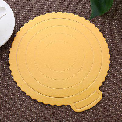 Bakeware Square and Round Birthday Cake Paper Pad 5 tablet