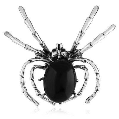 Retro Spider Pearl Brooch for Women Clothes