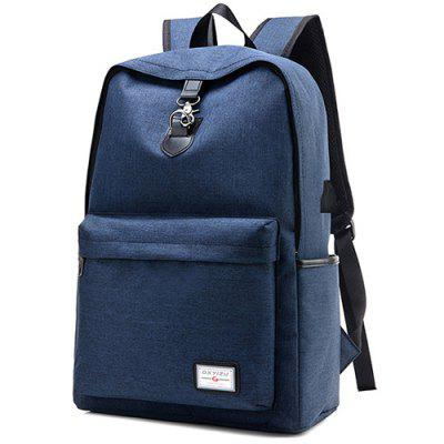 oxford fabric leisure chest bag for man