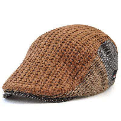 JAMONT 8228 Autumn-winter Keeping Warm Beret for Old Man