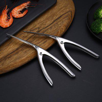 Creative Stainless Steel Quick Shrimp Stripper