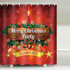 Bell Color Ball Shower Curtain - MULTI