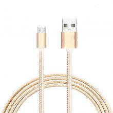 Metal Braided Nylon Charging Cable for Android Phone