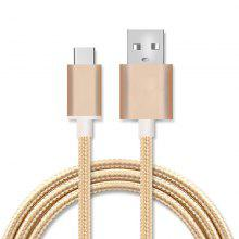 Nylon Woven Android Type-C Data / Charging Cable