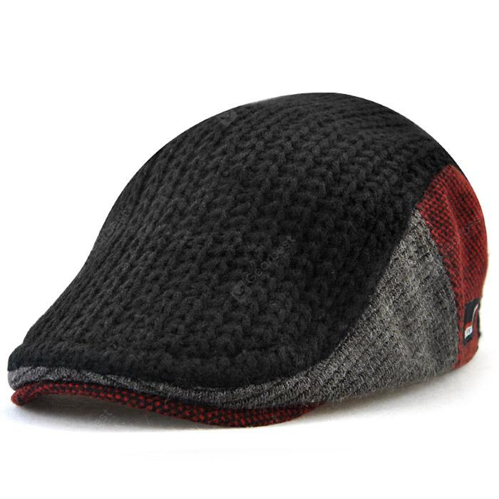 31c3a69e82824 JAMONT 8228 Autumn-winter Keeping Warm Beret for Old Man ...