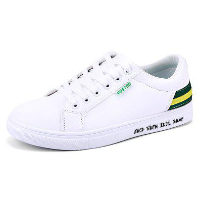 Men Shoes Flat Sneakers Lace-up