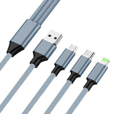 Type-c Aluminum Charge Cable for Cell Phone