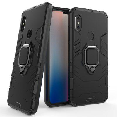 LuanKe Blade Support Sheath Phone Case for Xiaomi Mi Redmi Note 6 Pro