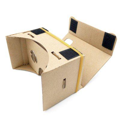 3D Glasses Virtual Reality Carton Paper Cardboard for 4 - 6 inch Mobile Phones