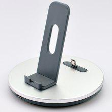 Aluminum Alloy Wireless Charging Holder for Android Phone