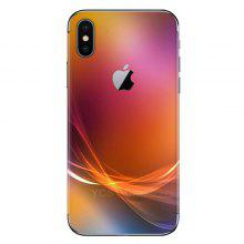 Mobile Phone Colorful Sticker for iPhone X