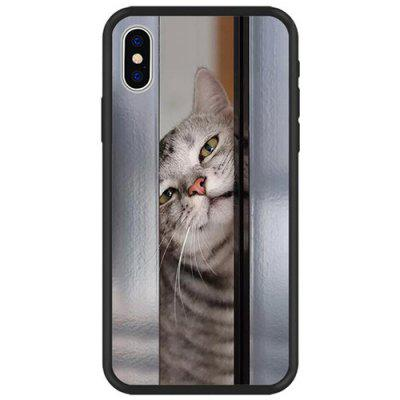 Cute Pet Kitty Phone Case for iPhone X