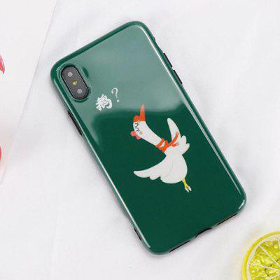 Illustration Glossy Phone Case for iPhone X