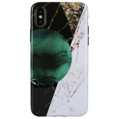 Fashionable Marble Grain Phone Case for iPhone X