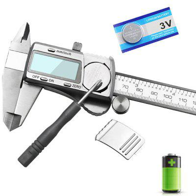 High-precision Stainless Steel Digital Display Vernier Caliper