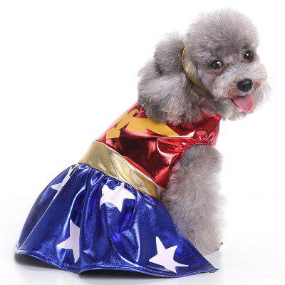 Hawkman Cosplay Pet Clothe para perro