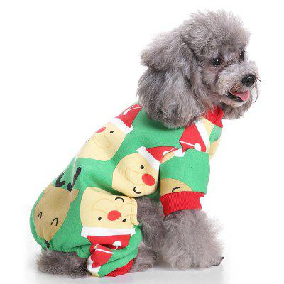 New Year Holiday Pet Clothe for Dog