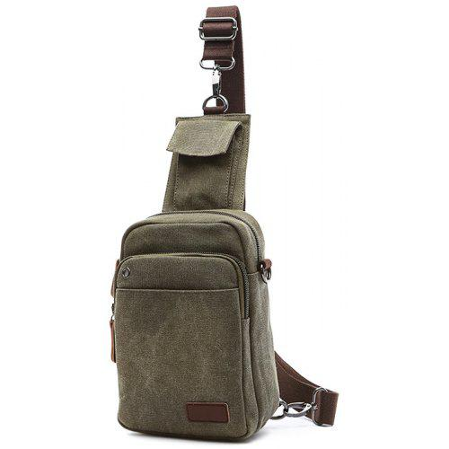 2983b1019173 Crossbody Bags. Single Shoulder Oblique Back Dual-use Bag Men Chest Bag  Casual Canvas Bag