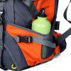 HUWAIJIANFENG Large Capacity Outdoor Mountaineering Bag Professional Carrying System Backpack - ORANGE