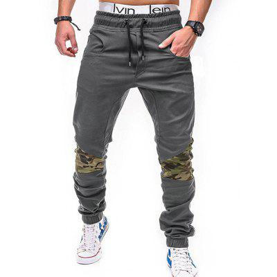 WSGYJ 1600 - 7441 Camouflage Stitching Casual Pants