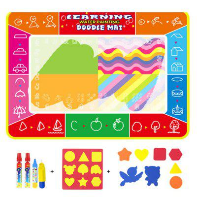 CP2395 Letters Children Magic Canvas Water Painting Set