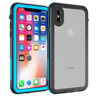 Water-proof Anti-fall Mobile Phone Case for iPhone X