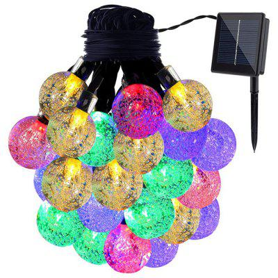 30-LED Solar Power Ball Ball String String Light