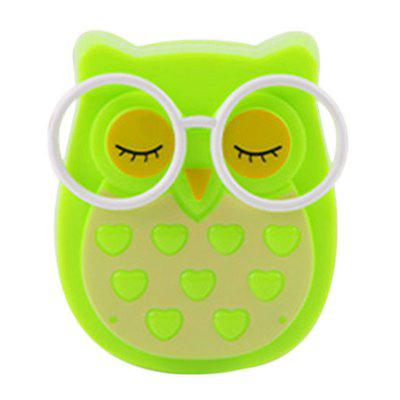 Intelligent Owl Shape Light Control Night Light for Decoration