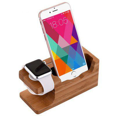 iWatch Multifunction Wood Charging Tablet Stand