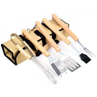 Outdoor Stainless Steel Barbecue Combination Set 5pcs
