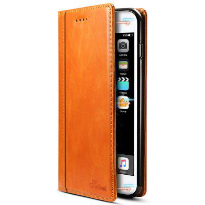 5.5 inch Full Package Wallet Card Phone Protective Case for iPhone 7 Plus