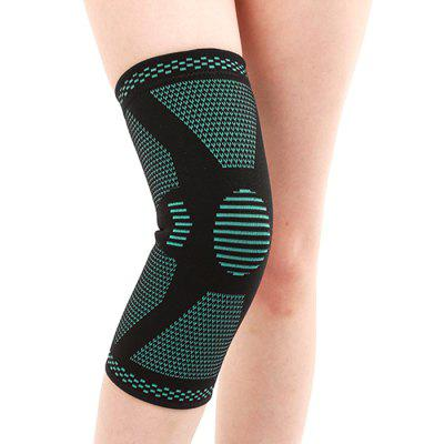 Knitted Sports Knee Pad Summer Breathable Support for Running Basketball Mountaineering Protective Gear
