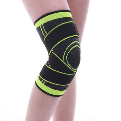 Knitting Sports Knee Pad Pressure for Running Basketball Riding Fitness Protective Gear